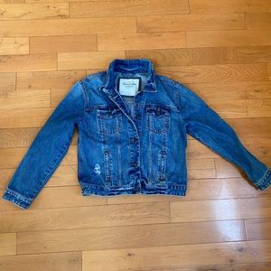 Abercrombie & Fitch Jean Jacket Size Small